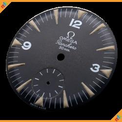 Omega Ranchero Black Matte Dial 2990-1