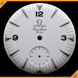 Dial Omega Ranchero Matte Dial 2990-1 White