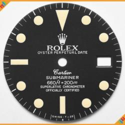 Dial Rolex Ref 1680 Submariner Cartier Patina Lume