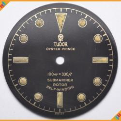Dial Tudor Submariner Ref 7922 Depth Gilt  & Super Glossy Dial - ST 01-GNDT