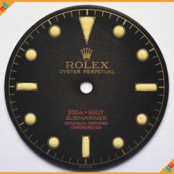 Dial Rolex  5512 Four Lines Red Super Glossy Dial ST 02-GNTD