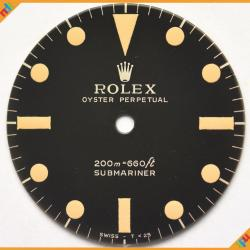 Dial Rolex Submariner Ref 5512 - 5513 Super Glossy & Depth Gilt Dial 2 Lines ST 03-GNTD