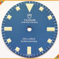Tudor Dial Submariner Snow-Flake Bue Dial Ref 9401/0 94010